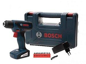 """Furadeira e Parafusadeira Elétrica Bosch 12V - Velocidade Variável Mandril 1/4"""" GSR 1000 Smart"""