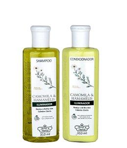 Flores e Vegetais Camomila e Hamamelis Shampoo e Condicionador