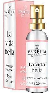 Perfume La Vida Bella Feminino Parfum Brasil Absoluty Color 15ml