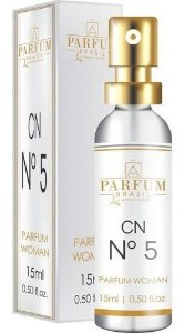 Perfume Cn N.5 15ml Parfum Brasil Absoluty Color