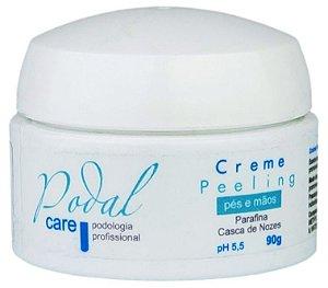Creme Pelling Podal Care Podologia Profissional Para Pés E Mãos 90g