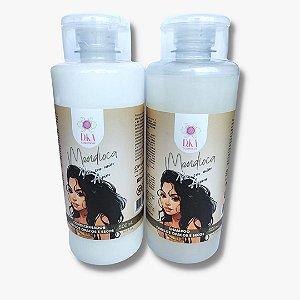 Mandioca Vem em Mim Aipim D.ka Cosméticos Shampoo E Condicionador 500 mL