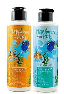 Nathydras Kids Shampoo E Condicionador Baby Para Crianças De Todas As Idades