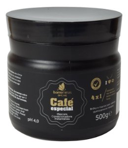 Barro Minas Máscara Condicionadora Pós Quimica Café Especial 500g