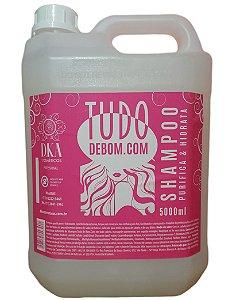 D.ka Cosméticos Shampoo Purificante e Hidratante Para Todos os Tipos de Cabelo 5 - Litros