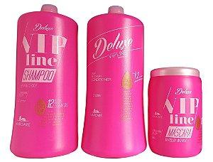 Kit Profissional Deluxe Vip Line Varcare  3 produtos
