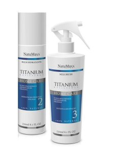 Natumaxx Cosmeticos - Kit Manutenção Pós Progressiva Titanium Resistence - 02 itens