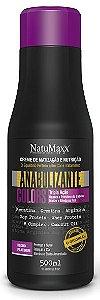 Natumaxx - Creme Anabolizante de Hidratação e Nutrição Matizador Colors Blond Platinum - 500ml