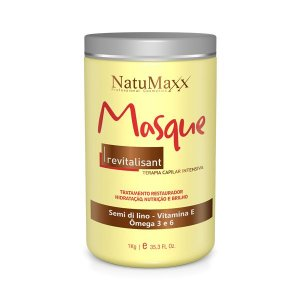 Mascara Revitalisant Natumaxx - Terapia Capilar Intensiva Base Vitamina E - 1kg