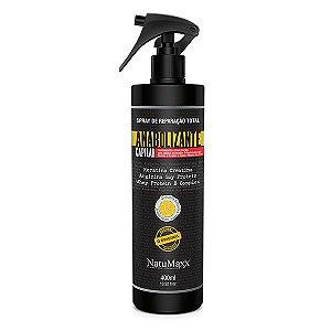 Natumaxx Anabolizante e Defrizante Spray Reparação Total 400ml