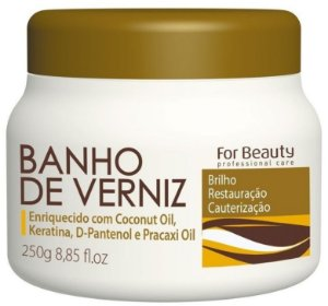 For Beauty Banho de Verniz Cauteriza e Restaura 250 gr
