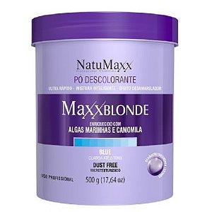 Natumaxx Pó Descolorante Blue Dust Free Até 8Tons MaxxBlonde - 500 gr