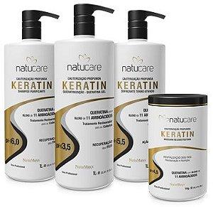 Natumaxx Kit Profissional de Queratinização Keratin Natucare