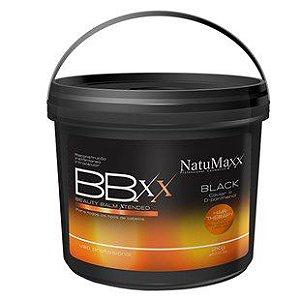 NatuMaxx - Botox Capilar Para Cabelos Resistentes Black Caviar e D-Panthenol 2kg