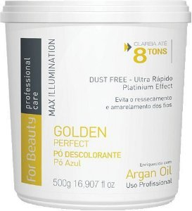 For Beauty Pó Descolorante Golden Perfect - 8 tons 500 gr
