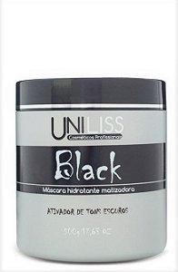 Mascara Uniliss Hidratante Black Ativadora de Tons Escuros 500 gr