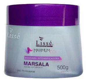 Lissé Maximum Color Máscara Intensificadora Marsala