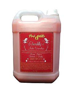 Pró Stills chantilly e Frutas Vermelhas Linha Shampoo Lavatório - 5 Litros