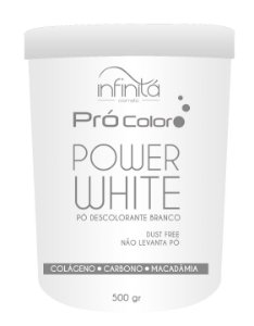 Infinitá  Power white Pó Descolorante Branco 500gr