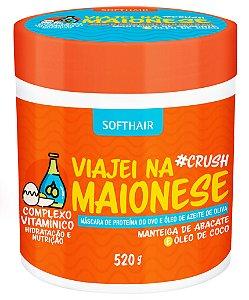 Softhair Crush  Viajei Na Maionese Complexo Vitamínico 520 gr