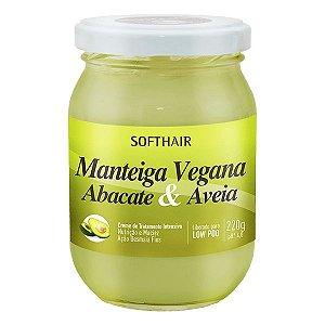 Soft Hair Manteiga Vegana  Abacate e Aveia Liberada Low Poo