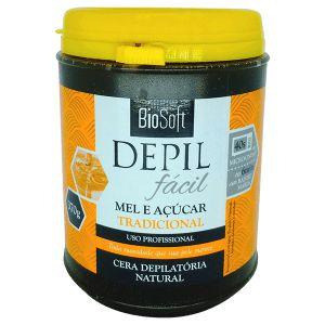 Bio Soft Depil Fácil Cera Depilatória Mel e açúcar Tradicional