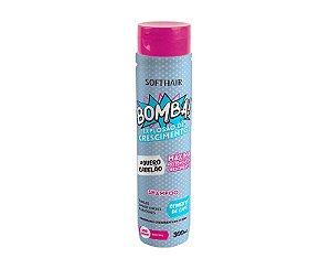 Soft Hair Shampoo Bomba Explosão de Crescimento Sem Sal