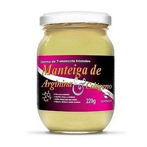 Soft Hair Manteiga de Arginina e Colágeno Força e Vitalidade 220gr