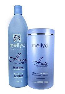 Mellyd Capelli Hair kit Reconstrutor Shampoo e Máscara