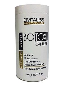 Divitaliss Botox Reconstrói e Repõe Massa Capilar 1Kg
