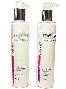 Mellyd Shampoo e Condicionador Anti Age Cabelos Mistos