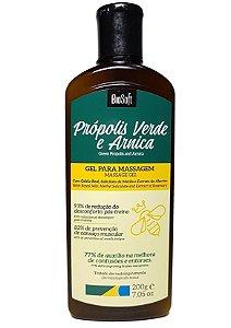 Bio Soft Própolis Verde e Arnica Gel Para Massagem