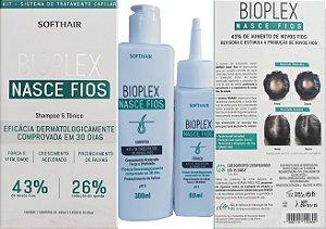 Bioplex Shampoo 300ml + Tônico 60ml Soft Hair  Nasce Fios
