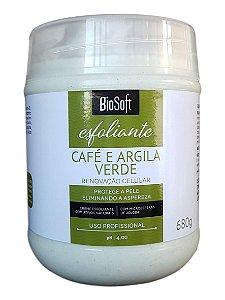 BioSoft Esfoliante Café e Argila Verde Renovação Celular 680gr