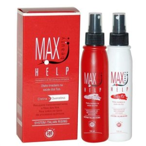 Max Beauty Help Kit Recuperação Intensiva Efeito Imediato 120ml