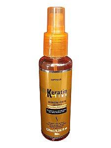 Softhair Reconstrução Intensa Queratina Liquida Keratin Line 120mL