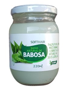 Softhair Sumo Polpa Natural de Babosa Vegano 220mL