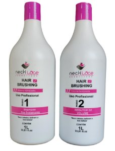 NeckLace Hair Brushing Sistema Nanoplastia