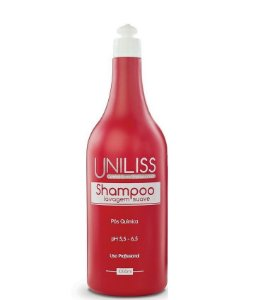 Uniliss Cosméticos Profissionais  Shampoo Pós Química 1L