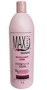 Max Beauty Neutramix Ação 3 em 1 Neutralizante Creme 1Litro