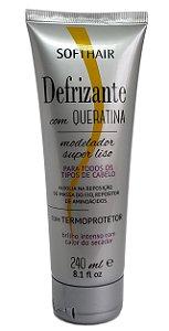 Softhair Defrizante com Queratina Termo protetor 240ml