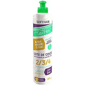 Soft Hair Leite de Coco Umidificador de Cachos Tipo 2/3/4