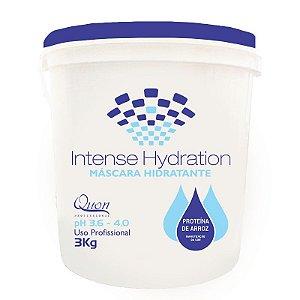 Quon Professional Intense Hydration Máscara Hidratante Proteína de Arroz
