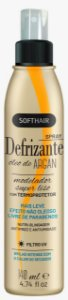 Soft Hair Spray Defrizante Óleo de Argan Modelador Super Liso 140mL