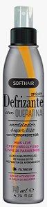 SoftHair Spray Defrizante Com Queratina Termoprotetor 140mL