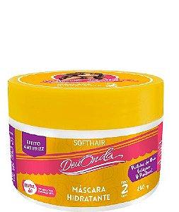 Softhair Máscara Hidratante Deu Onda Cabelo Tipo 2abc
