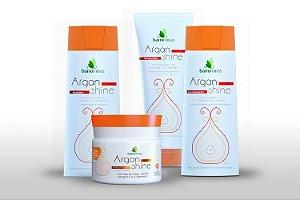 Barrominas Argan Shine kit completo Para Cabelos Danificados