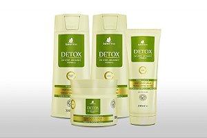 Barrominas Detox Kit Desintoxicação Capilar Purifica Tonifica Fios