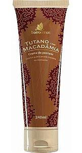 Barrominas Creme de Pentear Tutano com Macadâmia 240mL