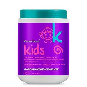 Kanechom Kids Máscara Condicionante Hidratação e Brilho 1Kg